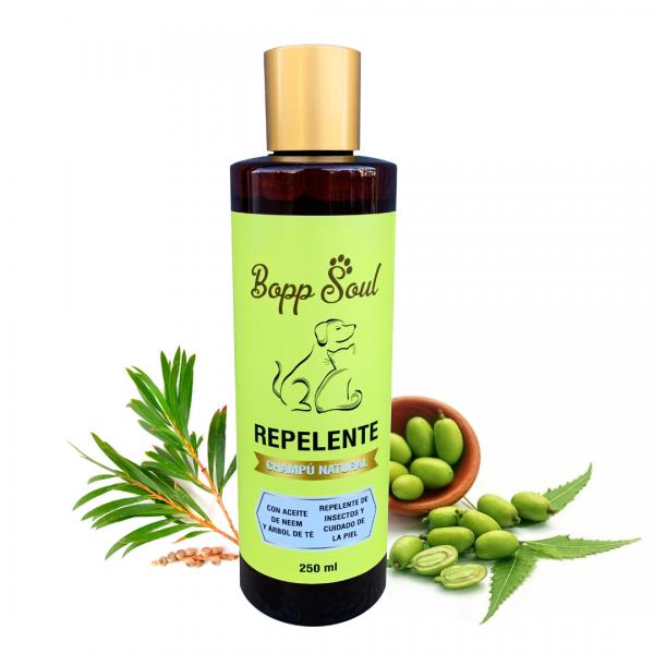 Shampoo Antipulgas, Champú Antipulgas NATURAL. Altamente eficaz como prevención ante los diferentes parásitos a los que nuestras mascotas están expuestas diariamente. Sus ingredientes son 100% ecológicos